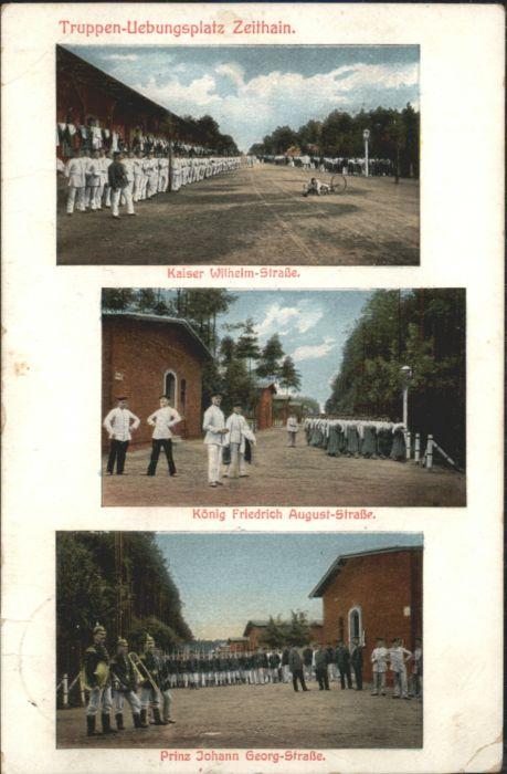 Zeithain Truppenuebungsplatz Kaiser Wilhelm Strasse Koenig Friedrich August Strasse Prniz Johann Georg Strasse x