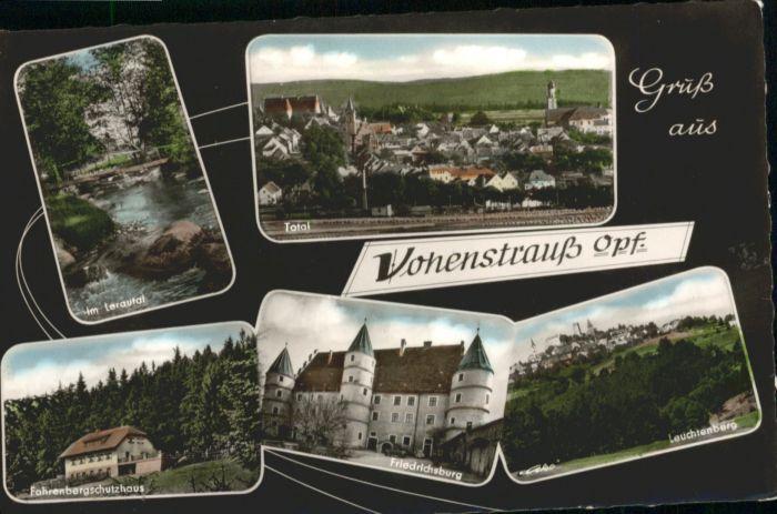 Vohenstrauss Fahrenbergschutzhaus Friedrichsburg Leuchtenberg *