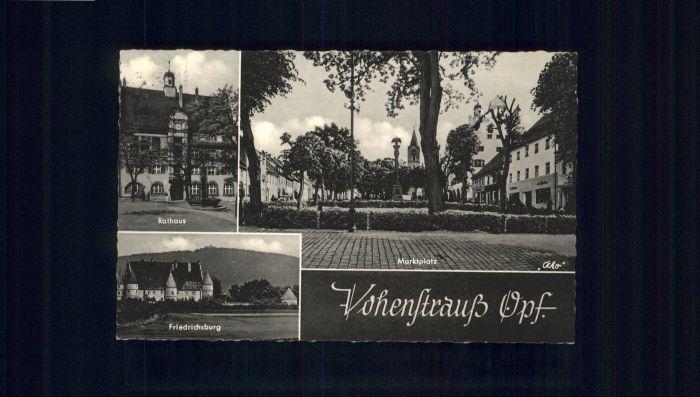 Vohenstrauss Rathaus Friedrichsburg x
