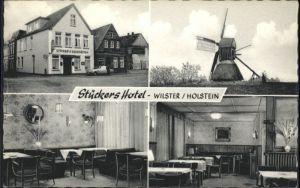 Wilster Holstein Stueckers Hotel Gaststaette Windmuehle *