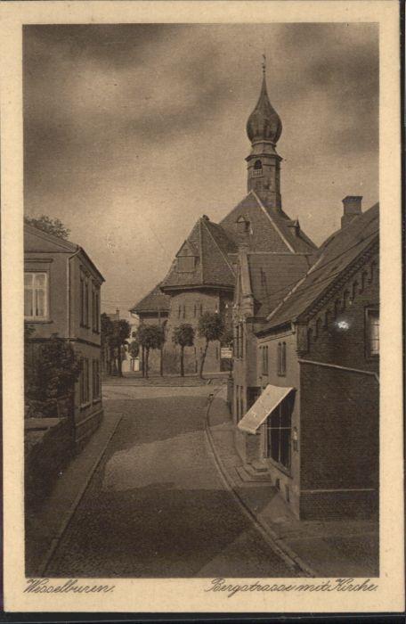 Wesselburen Wesselburen Bergstrasse Kirche * / Wesselburen /Dithmarschen LKR