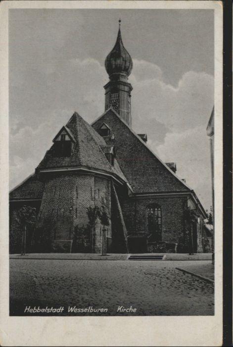 Wesselburen Hebbelstadt Kirche *