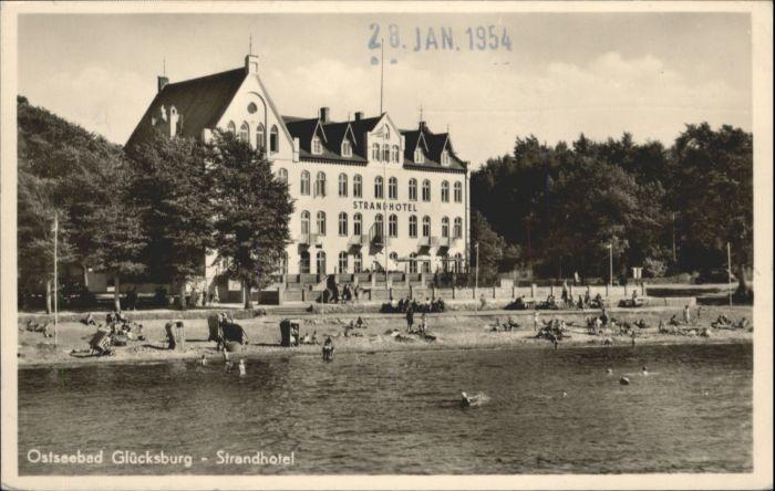 Gluecksburg Ostseebad Gluecksburg Ostsee Strandhotel x / Gluecksburg (Ostsee) /Schleswig-Flensburg LKR