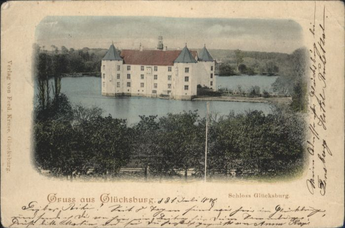 Gluecksburg Ostseebad Gluecksburg Ostsee Schloss Gluecksburg x / Gluecksburg (Ostsee) /Schleswig-Flensburg LKR