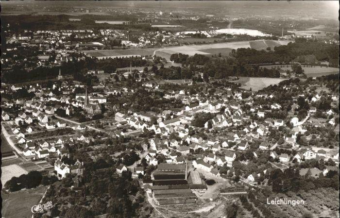 Leichlingen Rheinland Leichlingen Fliegeraufnahme * / Leichlingen (Rheinland) /Rheinisch-Bergischer Kreis LKR