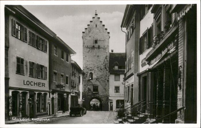 Markdorf Kirchstrasse Geschaeft Locher *