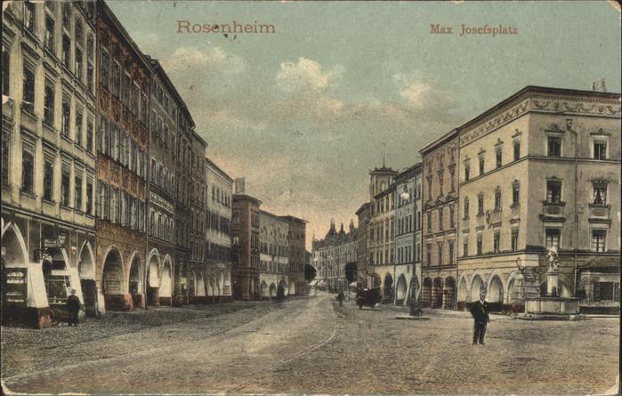 Rosenheim Oberbayern Max Josefsplatz