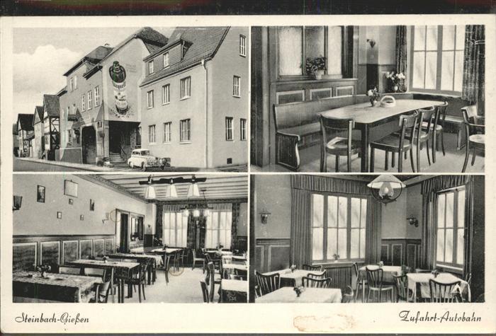 Lich Hessen Gasthaus Einhorn / Lich /Giessen LKR