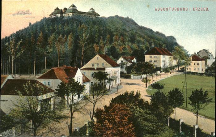 Augustusburg Erzgebirge Schloss Kat. Augustusburg
