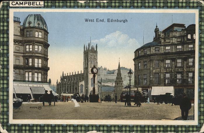 Edinburgh West End Kat. Edinburgh