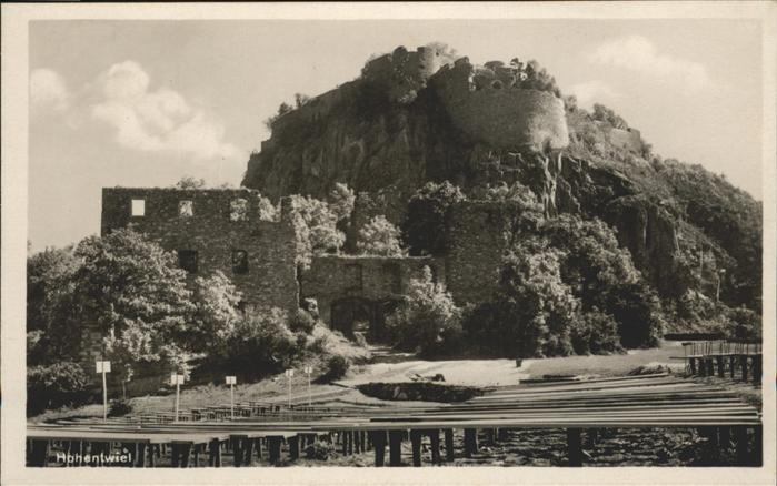 Hohentwiel Festung Hohentwiel Kat. Singen (Hohentwiel)