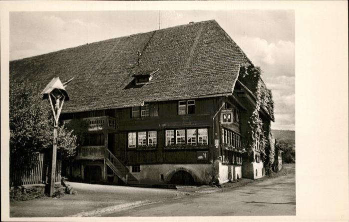 Glottertal Gasthaus Engel Kat. Glottertal