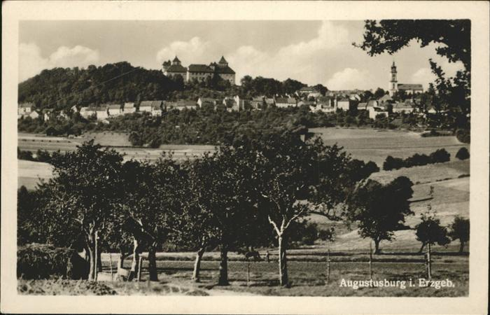 Augustusburg Erzgebirge Kat. Augustusburg