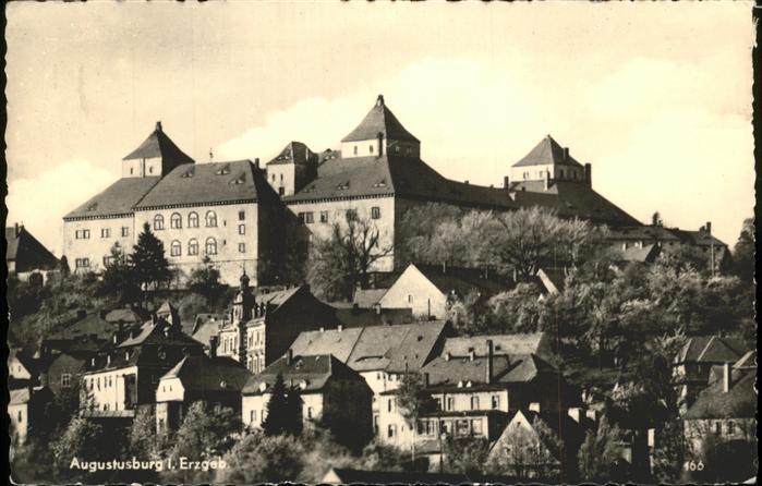 Augustusburg Erzgebirge Burg Kat. Augustusburg