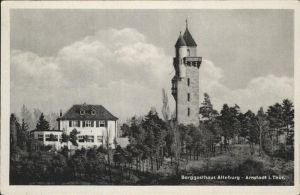 Arnstadt Ilm Berggasthaus Alteburg / Arnstadt /Ilm-Kreis LKR