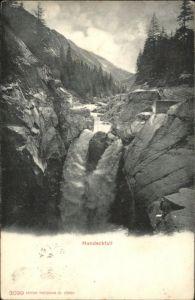 Lauterbrunnen BE Lauterbrunnen [Stempelabschlag] Handeckfall x / Lauterbrunnen /Bz. Interlaken