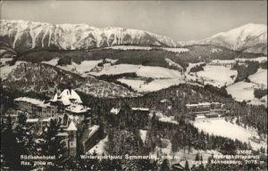 Semmering Niederoesterreich Semmering Suedbahnhotel Rax Meereskurlazarett Schneeberg x / Semmering /Niederoesterreich-Sued