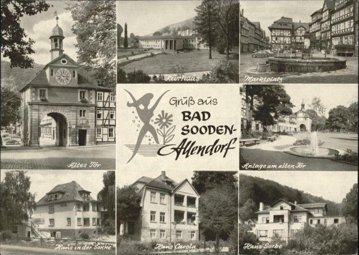 Bad Sooden-Allendorf Bad Sooden-Allendorf  * / Bad Sooden-Allendorf /Werra-Meissner-Kreis LKR