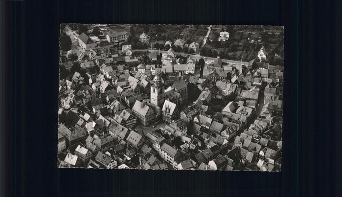 Alsfeld Luftaufnahme Alsfeld Altstadt Kat. Alsfeld