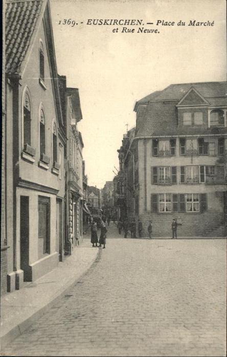 Euskirchen Place du Marche Rue Neuve *