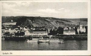 Unkel Rhein Schifffahrt x
