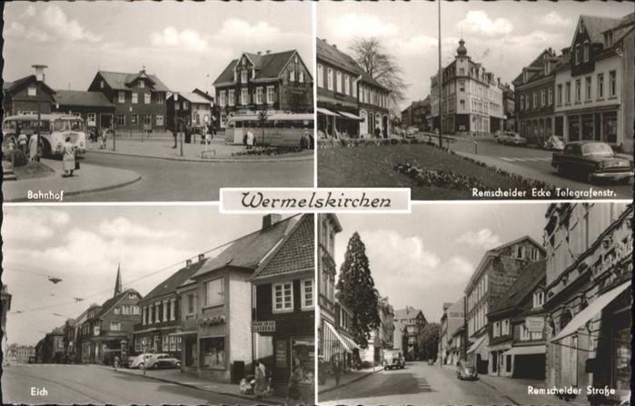 Wermelskirchen Bahnhof Eich Remscheider Strasse x 0