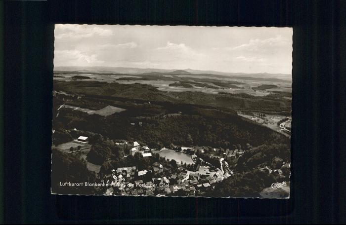 Blankenheim Ahr Blankenheim Fliegeraufnahme x / Blankenheim /Euskirchen LKR