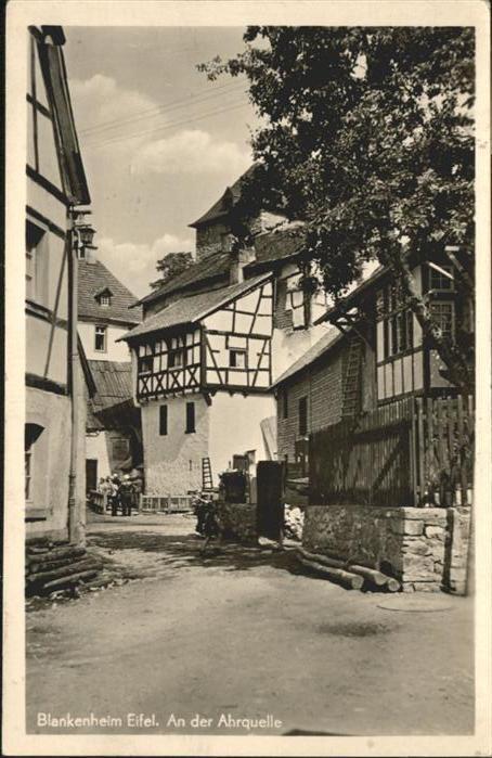 Blankenheim Ahr Blankenheim Ahrquelle * / Blankenheim /Euskirchen LKR
