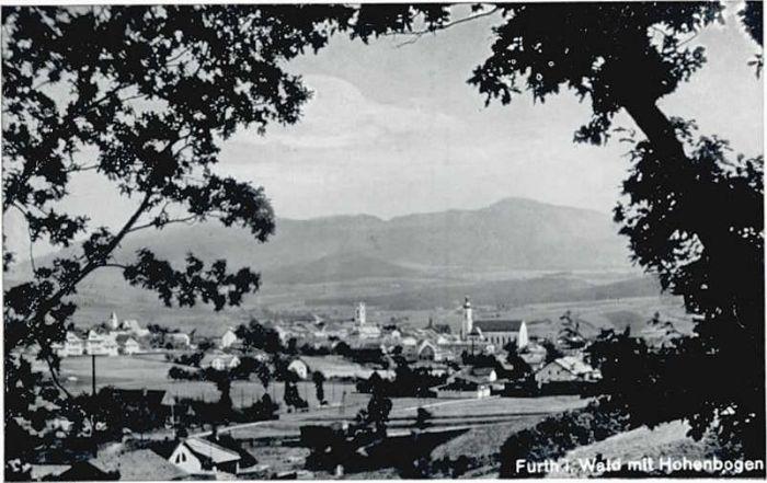 Furth Wald Furth Wald Hohenbogen * / Furth im Wald /Cham LKR