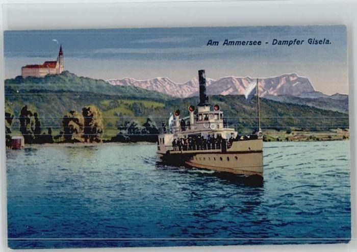 Andechs Kloster Dampfer Gisela *