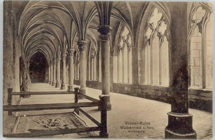 Walkenried Klosterruine Kreuzgang *