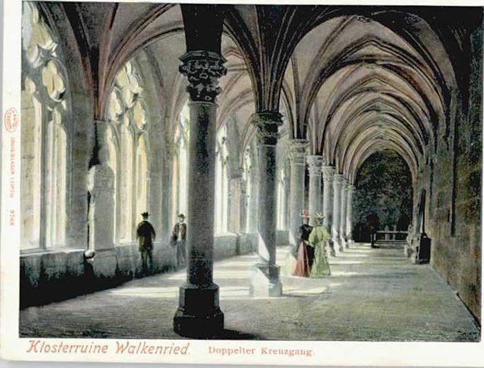 Walkenried Klosterruine Doppelter Kreuzgang *