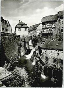 Saarburg Saar Saarburg Wasserfall Leukbach Muehlen * / Saarburg /Trier-Saarburg LKR