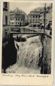 we38620 Saarburg Saar Saarburg Wasserfall x Kategorie. Saarburg Alte Ansichtskarten