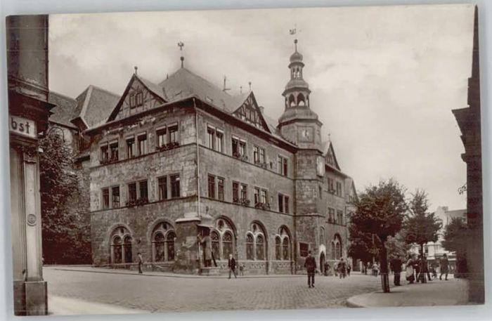 Nordhausen Thueringen Nordhausen Rathaus * / Nordhausen Harz /Nordhausen LKR