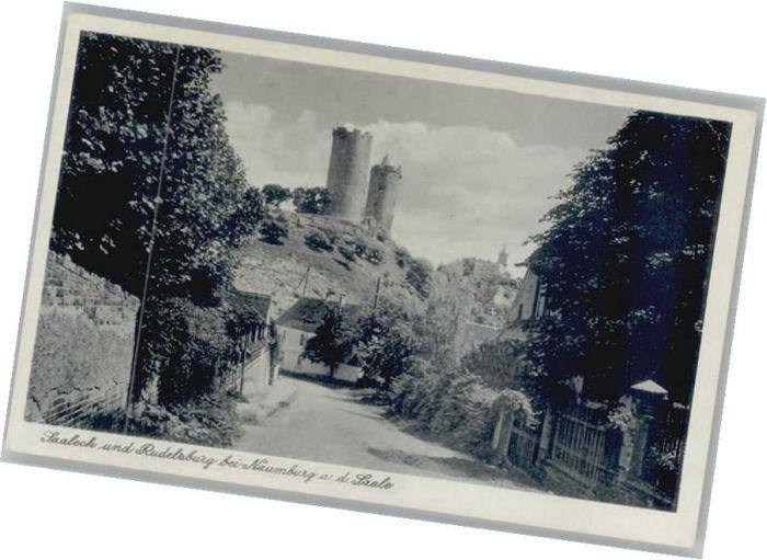 Naumburg Saale Saaleck Rudelsburg *