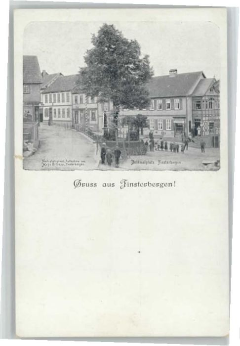 Finsterbergen Finsterbergen Denkmalplatz * / Finsterbergen Thueringer Wald /Gotha LKR