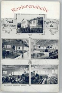 Bad Blankenburg Bad Blankenburg Konferenzhalle * / Bad Blankenburg /Saalfeld-Rudolstadt LKR