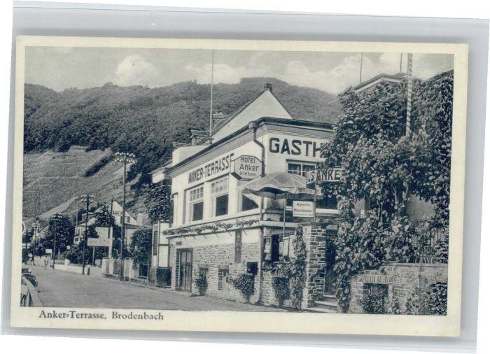 Brodenbach Brodenbach Anker Terasse * / Brodenbach /Mayen-Koblenz LKR