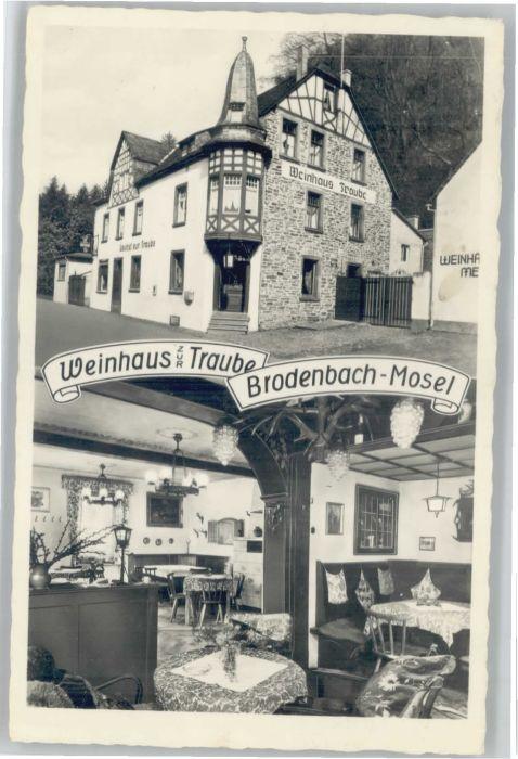Brodenbach Brodenbach Weinhaus Traube x / Brodenbach /Mayen-Koblenz LKR
