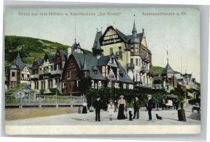 Assmannshausen Assmannshausen Kuenstlerheim Zur Krone * / Ruedesheim am Rhein /