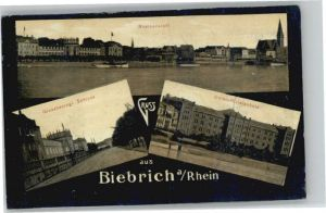 Biebrich Wiesbaden Biebrich Wiesbaden Schloss Unteroffizierschule * / Wiesbaden /Wiesbaden Stadtkreis