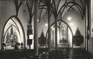 Feldkirch Vorarlberg Stadtpfarrkirche St. Nikolaus / Feldkirch /Rheintal-Bodenseegebiet