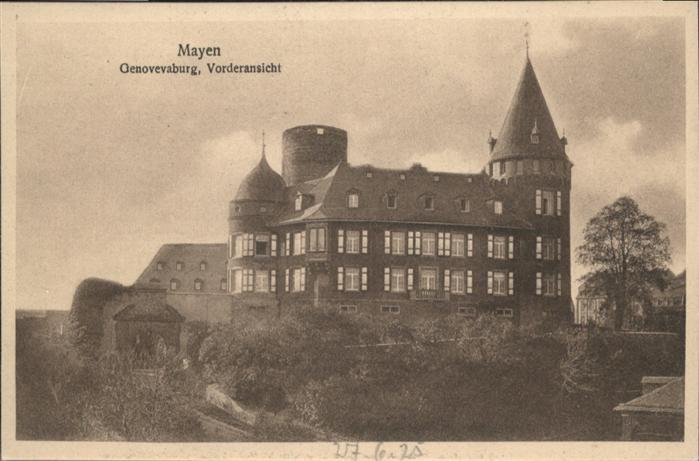 Mayen Genovevaburg / Mayen /Mayen-Koblenz LKR