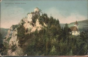 Semmering Niederoesterreich Ruine Klamm / Semmering /Niederoesterreich-Sued