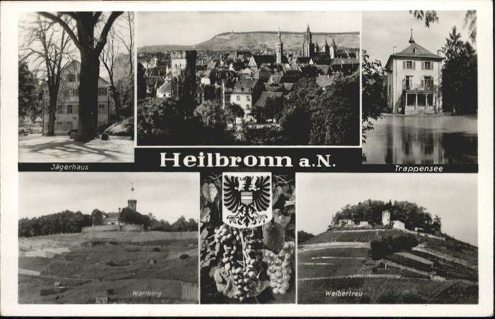Heilbronn Neckar Trappensee Wartberg Weibertreu Jaegerhaus / Heilbronn /Heilbronn LKR