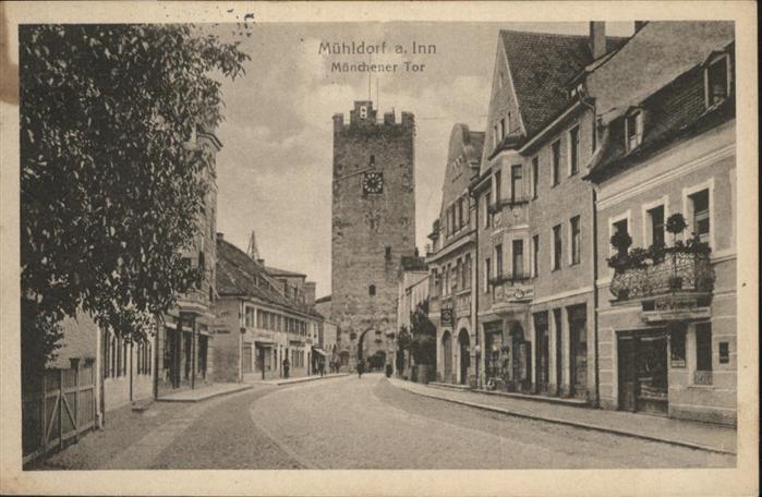 Muehldorf Inn Muenchner Tor / Muehldorf a.Inn /Muehldorf Inn LKR