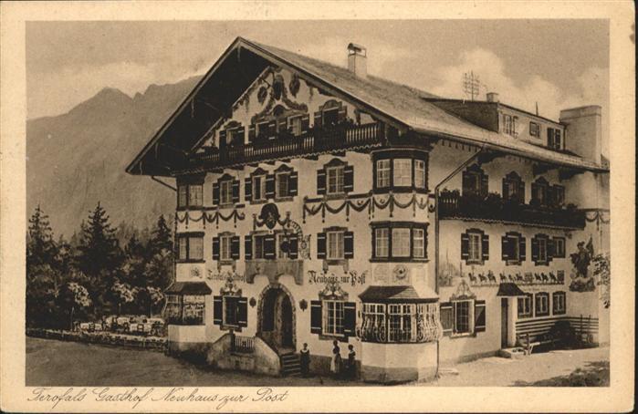 Neuhaus Schliersee Gasthof Post / Schliersee /Miesbach LKR