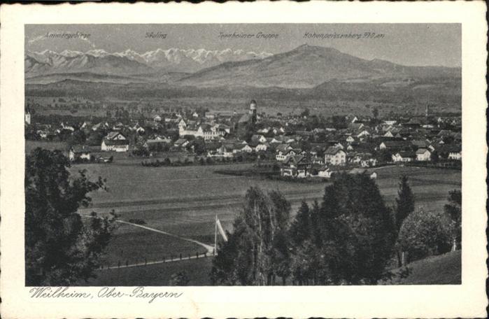 Weilheim  / Weilheim i.OB /Weilheim-Schongau LKR