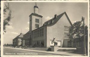 Glauchau Glauchau Sachsen Finanzamt ueberlandwerk x / Glauchau /Zwickau LKR